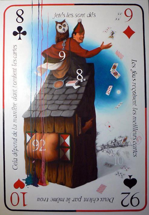 « Antoine l'espiègle  » Huile sur toile (114/162cm) 2006