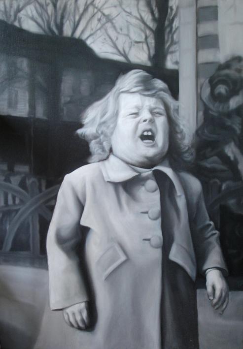 Mon père « , Huile sur toile 70 x 99 cm, Huile sur toile 2006