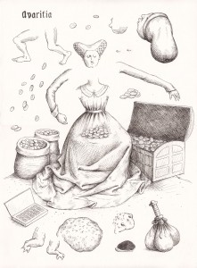 dessin-Avaritia