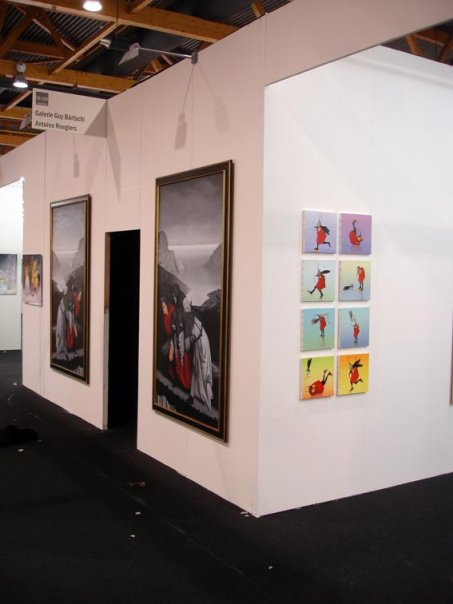 Solo show Art Brussels 2009 avec la galerie Guy Bärtschi