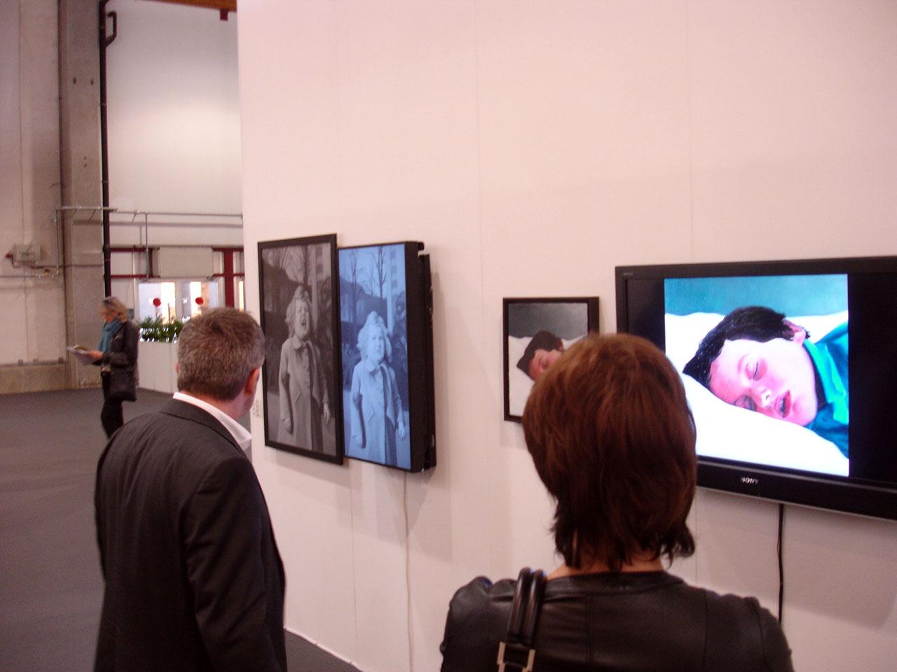 Art Brussels 2010 avec la galerie Guy Bärtschi