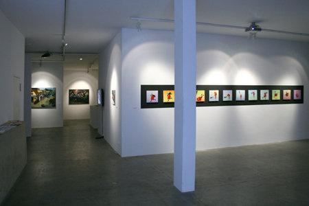 galerie Guy Bärtschi à Genève « Deux géants, Le Nain et moi… » 2009