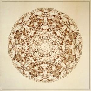 Gula, Blazon n°5, Ink on paper, 46x46 cm, 2013