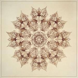 Invidia, Blazon n°6, Ink on paper, 46x46 cm, 2013