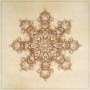 Luxuria, Blazon n°7, Ink on paper, 46x46 cm, 2013