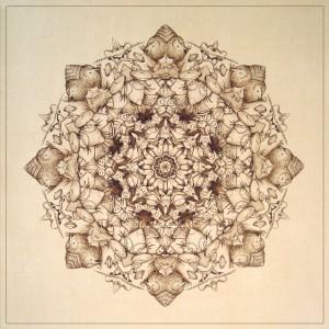 Superbia, Blazon n°3, Ink on paper, 46x46 cm, 2013
