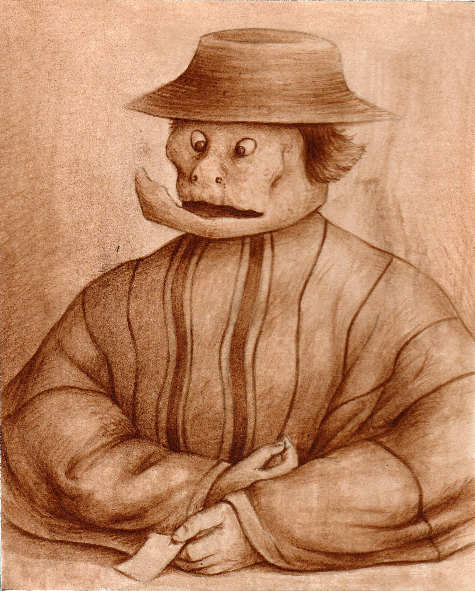 masque-chapeau-de-paille